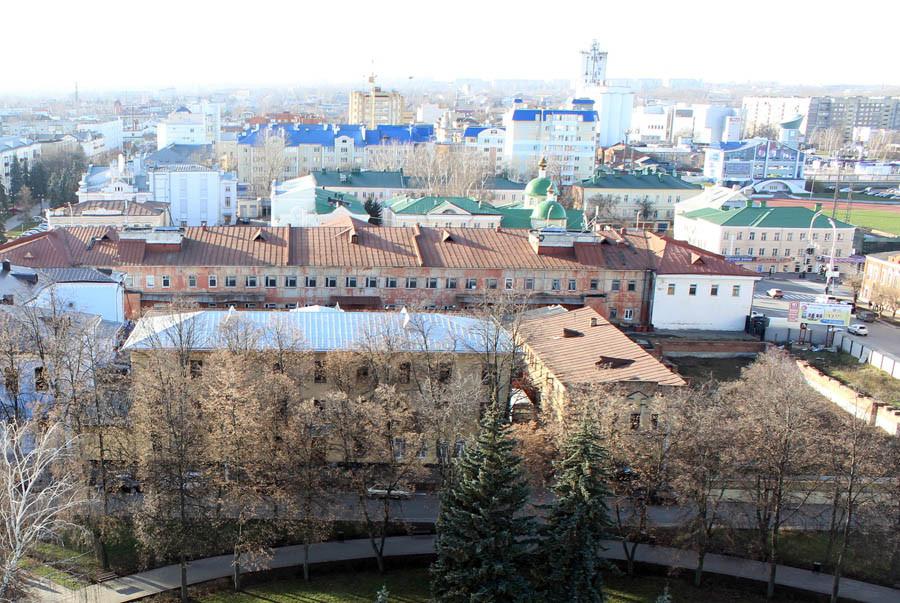 Соборная площадь. Вид с колокольни