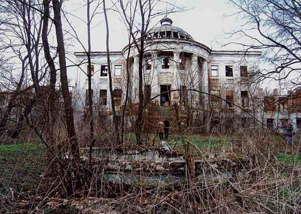 Вид усадебного дома в Зубриловке (Пензенская область). XVIII–XIX века. 2004