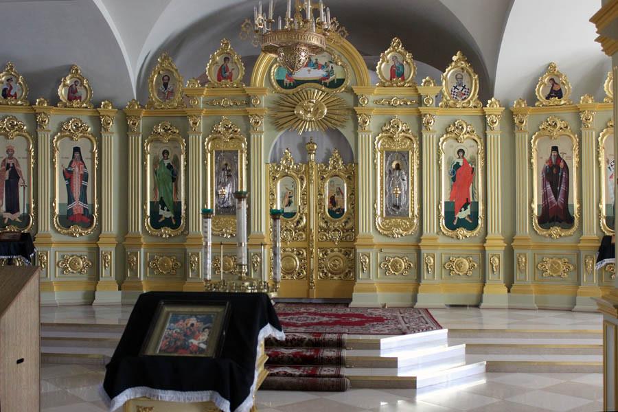 1 Интерьер Спасо-Преображенского собора в Тамбове