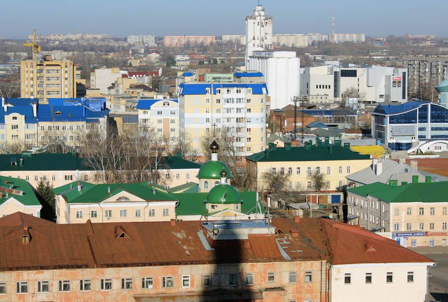 2 Вид на Лазаревский храм в Тамбове. 2014 г.