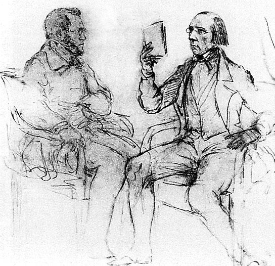 Иван Васильевич Киреевский и Василий Алексеевич Елагин