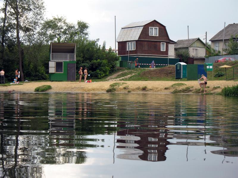 Река Цна около Тамбова. Фото 16 августа 2012 г.