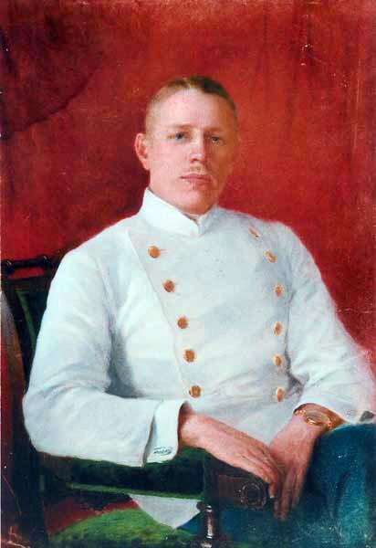 Н.М. Шевченко. Портрет студента Асеева. 1912