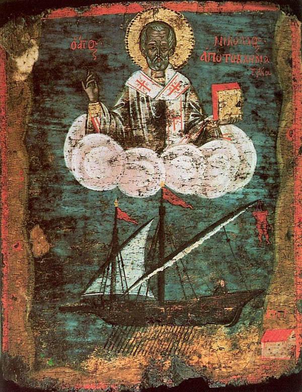 покровитель рыбаков и мореходов