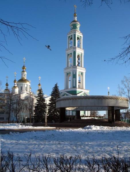 Соборная площадь города Тамбова. Фото 12.12.2012 г.