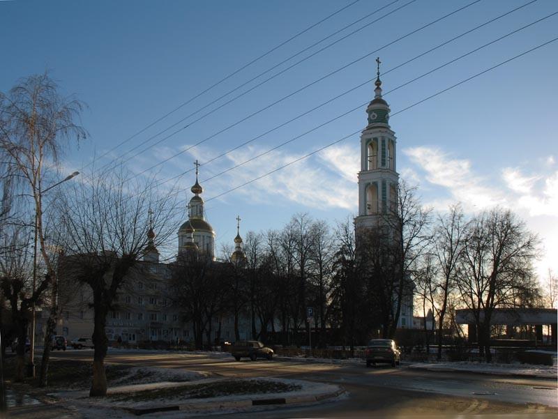 Соборная площадь. Тамбов. Фото 29 декабря 2012 г.