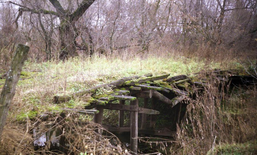 Мост в Чутановке. Фото 2003 г