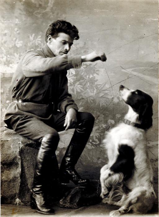 4. Иван Матвеевич. Фото 1924 г.