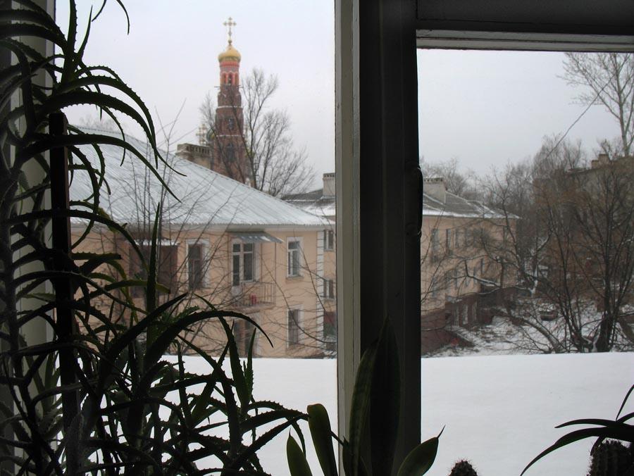 Вид из окна. Тамбов 3 января 2013 г.