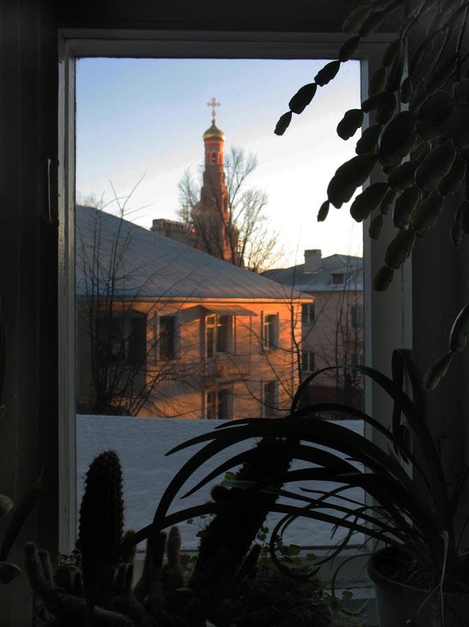 Вид из окна. Тамбов 24 декабря 2012 г.