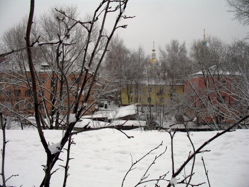 Предрождественский Тамбов. Фото 6 января 2013 г.