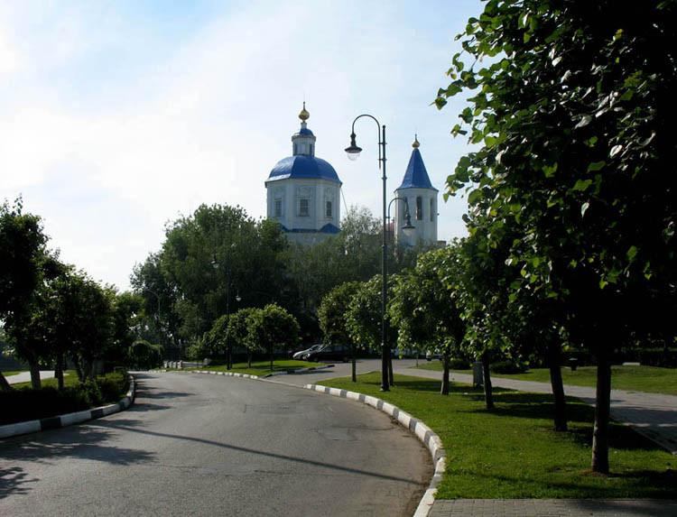 Покровский храм. Тамбов
