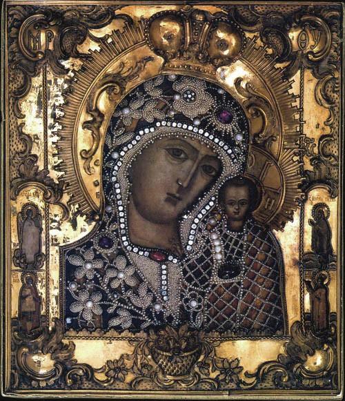 Казанская икона Божией Матери. 1775