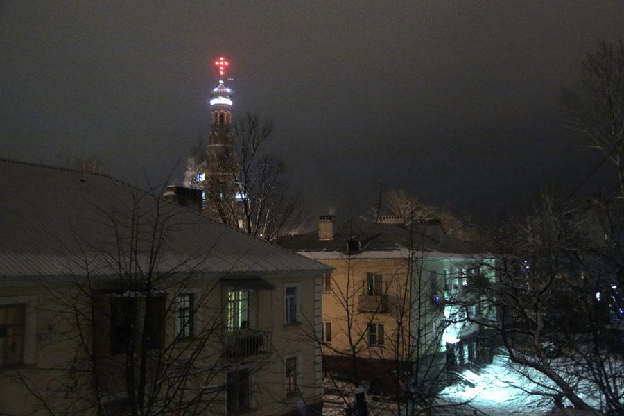 Вид из окна. Фото 8 января 2013 г.