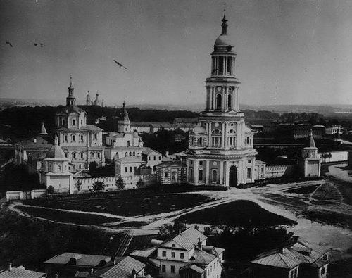 Спасо-Андроников монастырь в Москве. Дореволюционное фото
