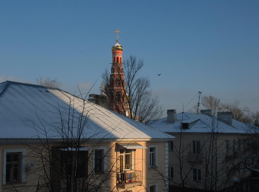 Староновогодний вид из окна. Фото 13 января 2013 г.
