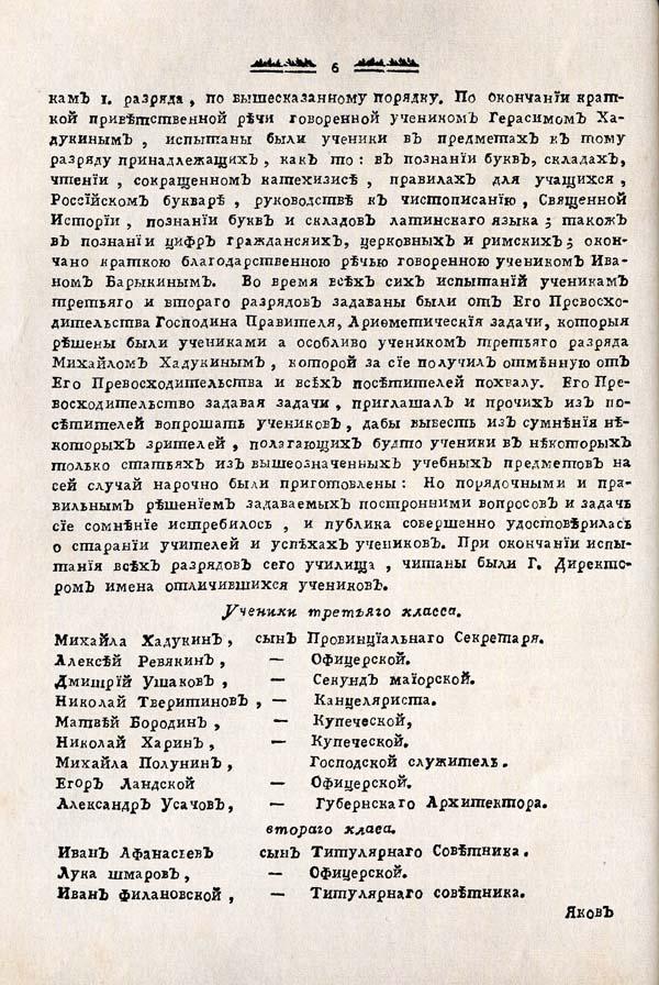 Тамбовские известия, 1788. №2