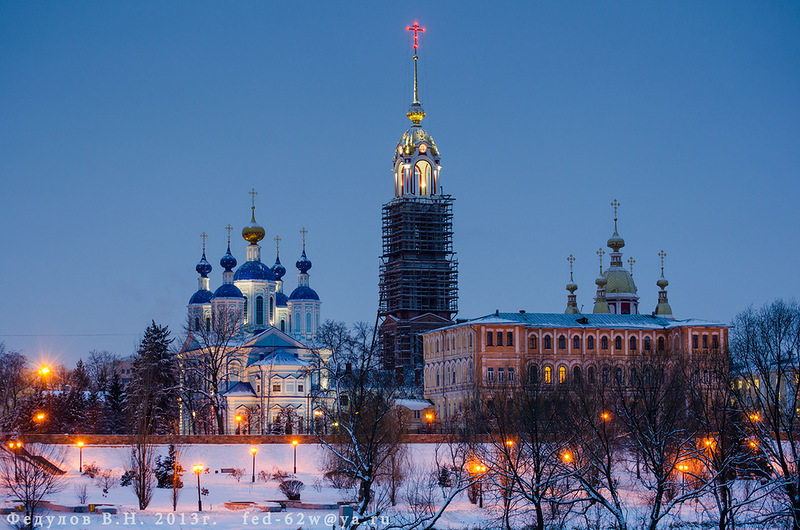 Казанский монастырь в Тамбове