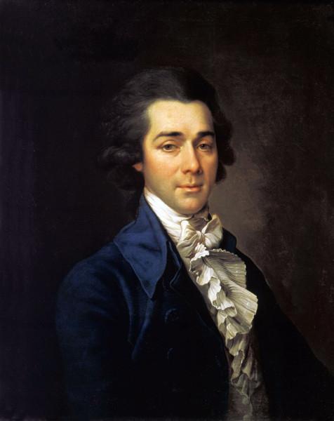 Д.Г. Левицкий. Портрет Н.А. Львова. 1789