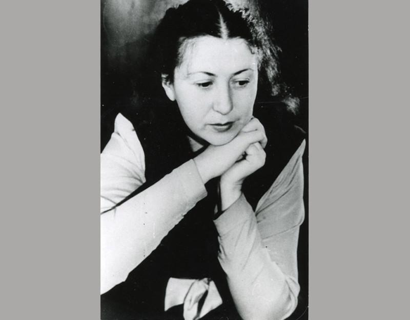 Симона Густавовна Ландау. Омск. 1945 год