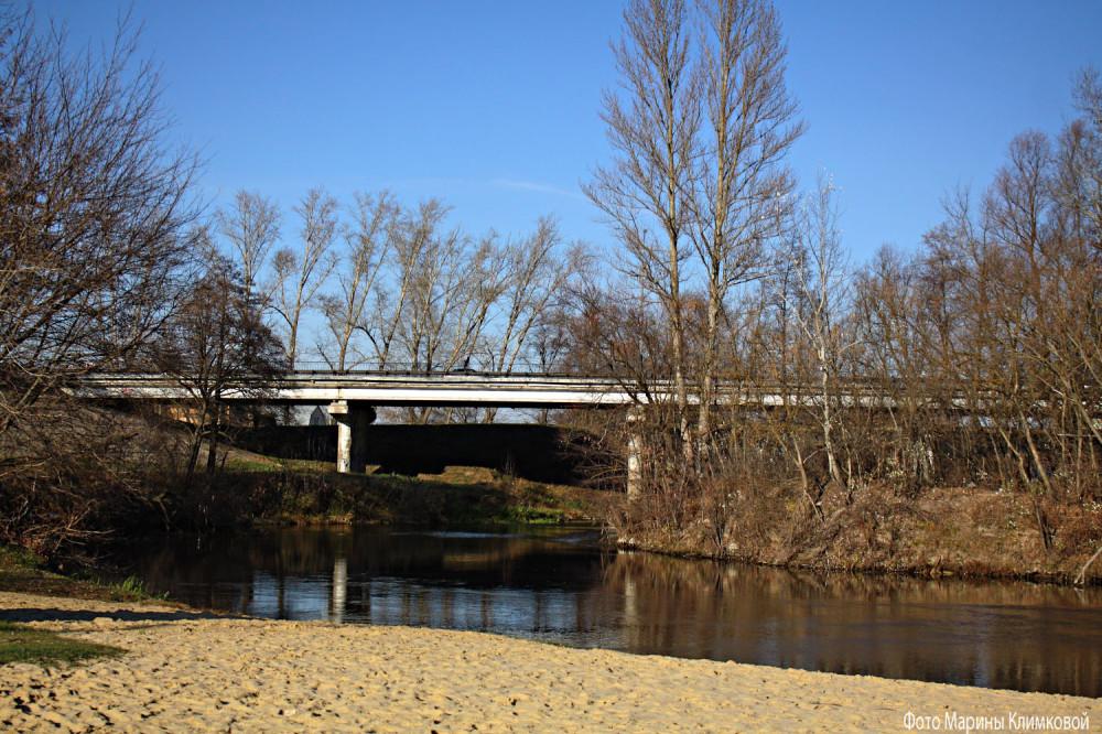 """""""Кривой"""" мост на Рассказовском шоссе. Фото 1 ноября 2019 года"""
