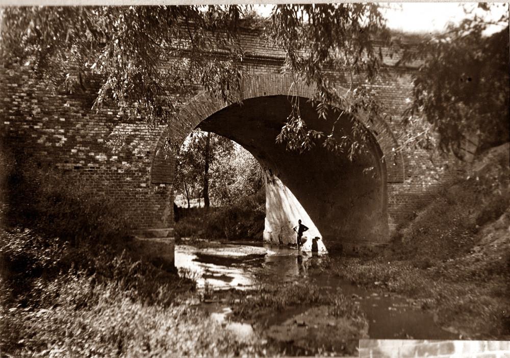 Мост через Студенец в Тамбове. Фото 1930-1940-х годов. Из семейного архива О. Вернера