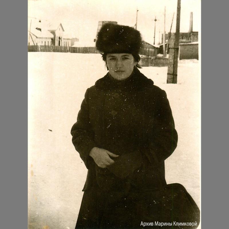 Моя мама. Саранск. Фото около 1963 года