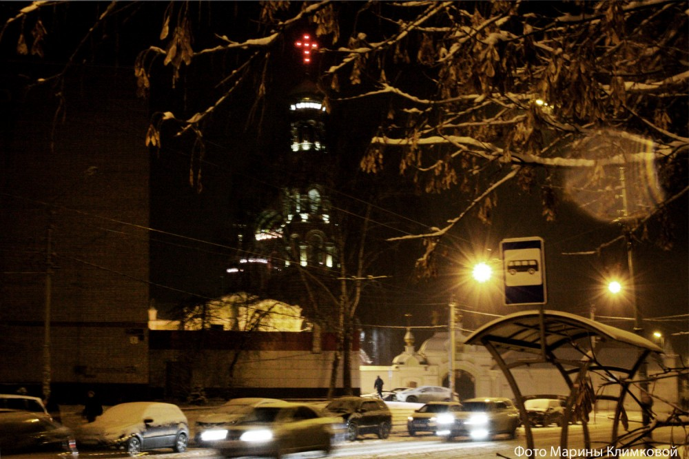 Тамбов. Улица Московская. Фото 3 декабря 2019 года