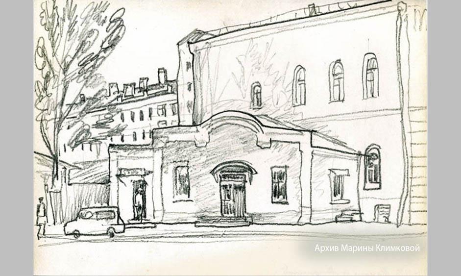 А.В. Климков. Улица Мичуринская, 3 а. Тамбов. 2003