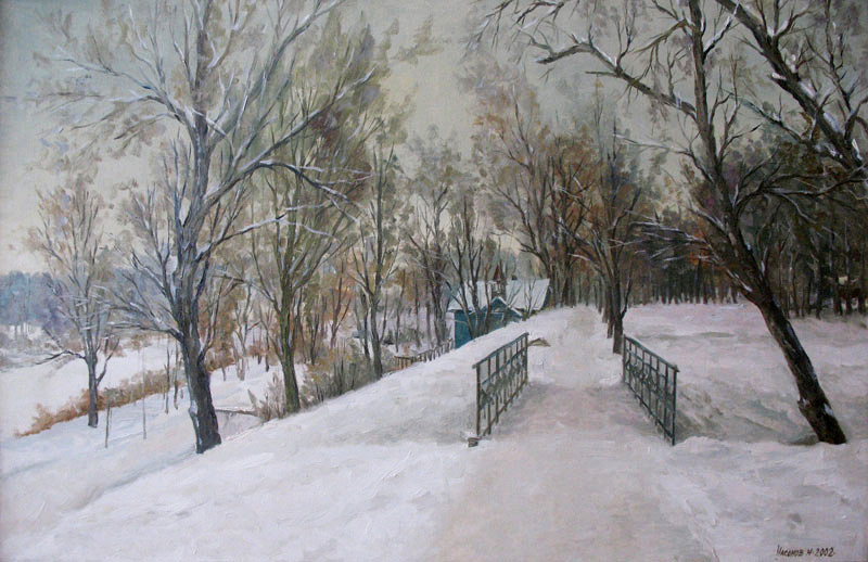 Николай Насонов. Набережная Тамбова. 2002