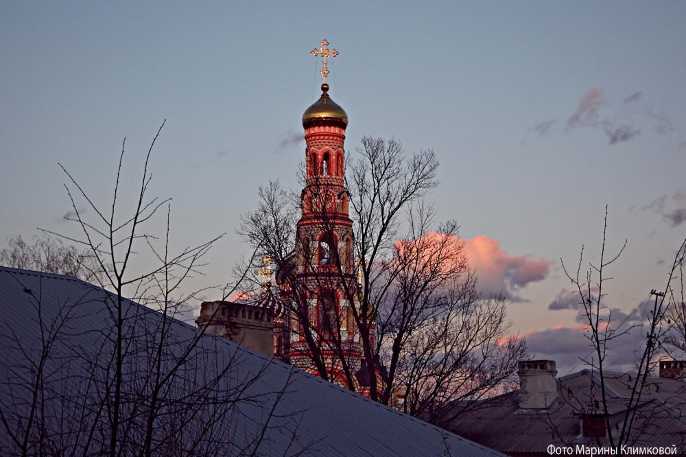 Вид из окна. 13 марта 2020 года