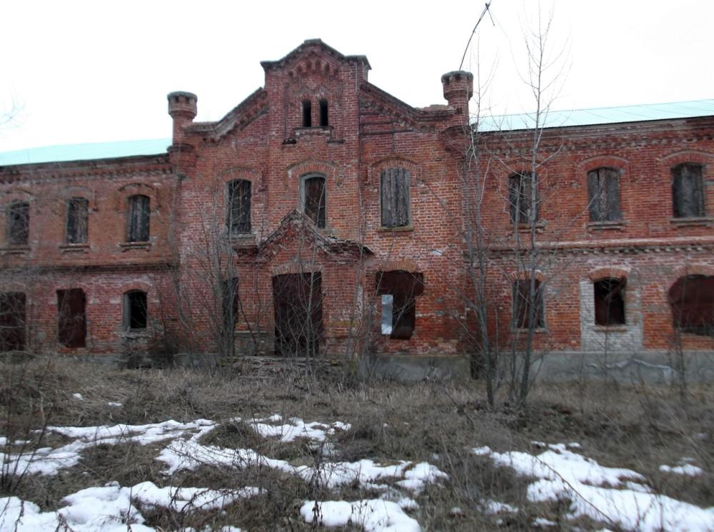 Усадьба Петрово-Соловово в селе Карай-Салтыково. Фото Д. Силина. 7 марта 2020 года