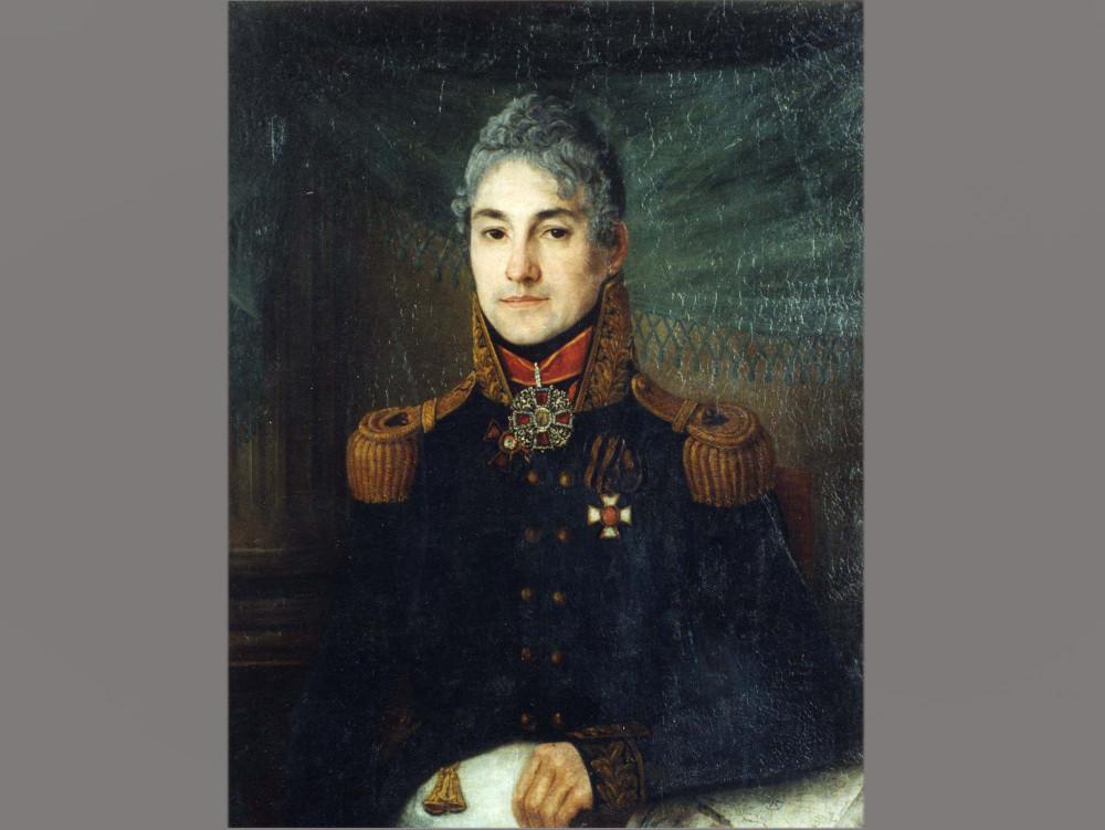 Неизвестный художник. Портрет Петра Андреевича Боратынского (дяди поэта). Копия около 1820 года с оригинала 1808–1812 годов