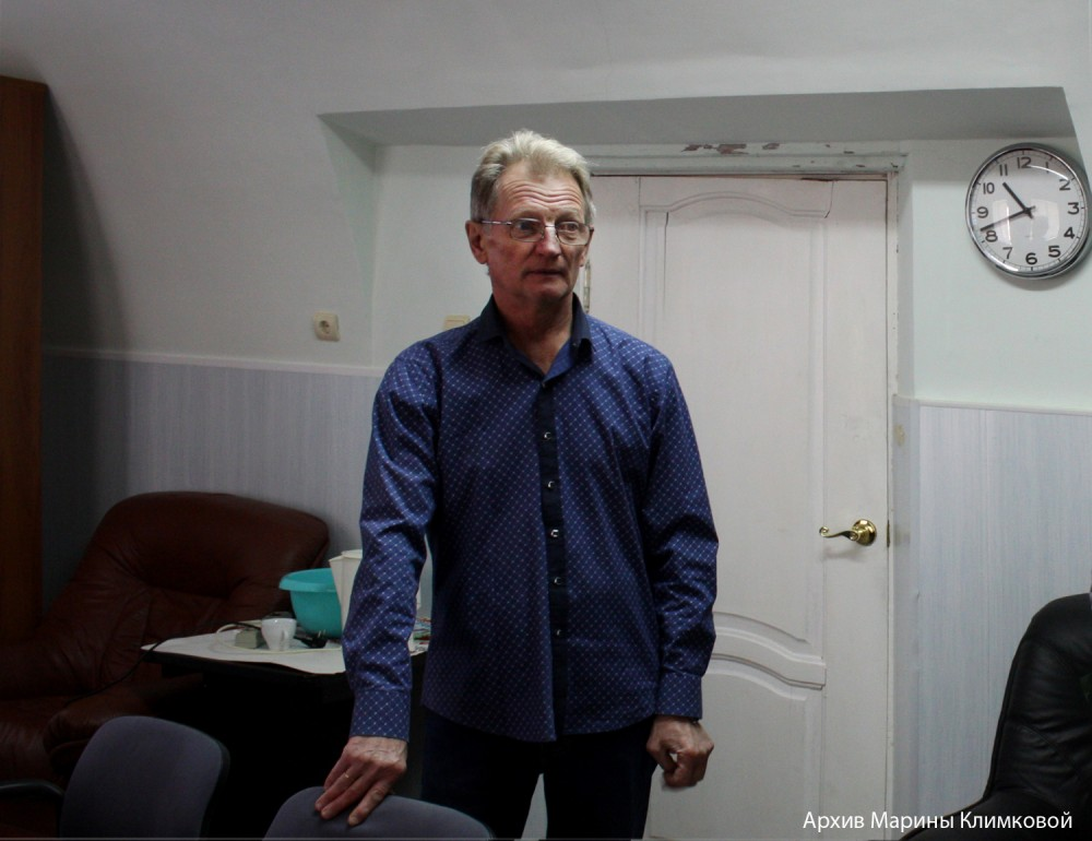 Николай Иванович Пашинцев. Лебедянь. Фото 2018 года