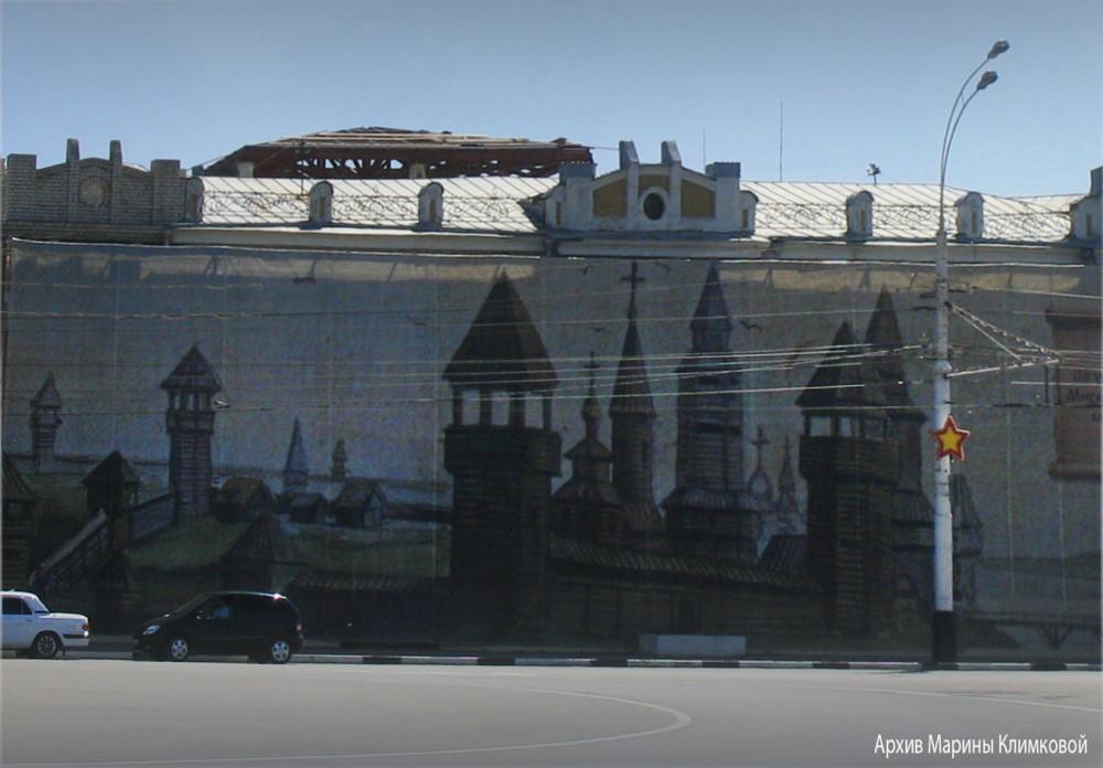 На Ленинской площади. Тамбов. Фото 2011 года