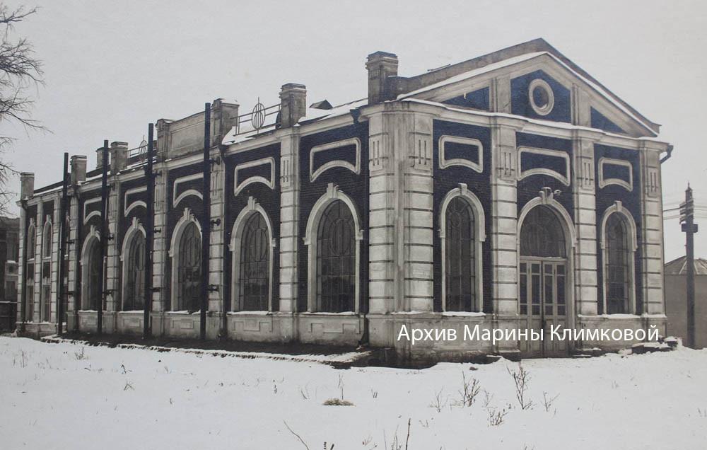Здание электростанции в городе Тамбове. Фото около 1911 года