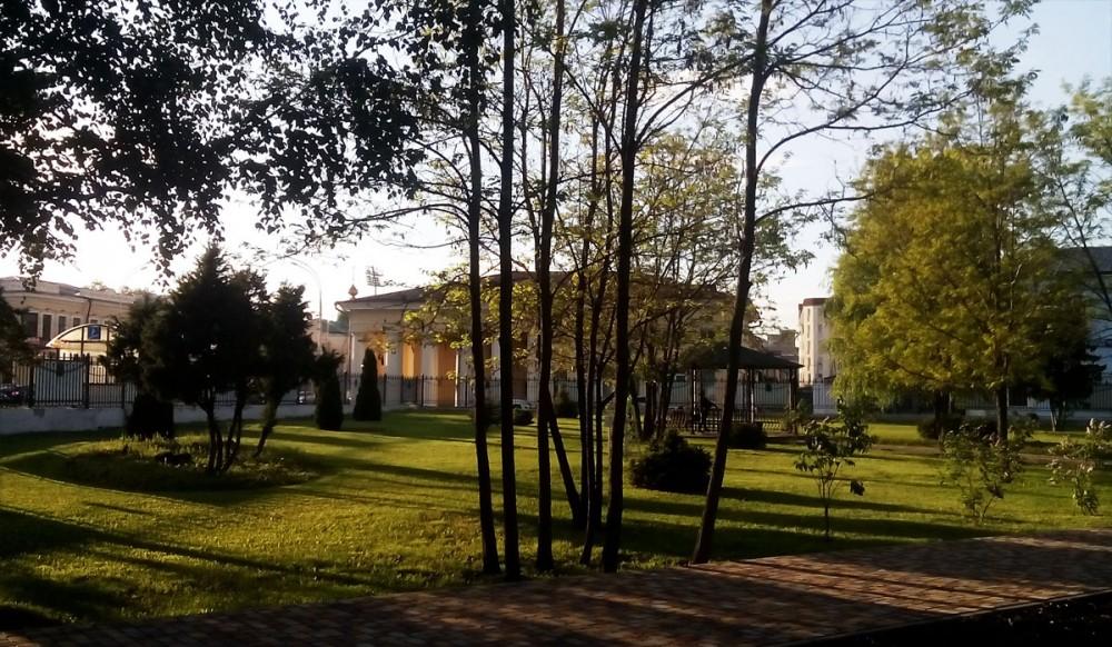 Городской сад. Тамбов. Фото 20 мая 2020 года