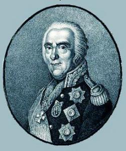 Портрет И.В. Гудовича. Гравюра 19 в.