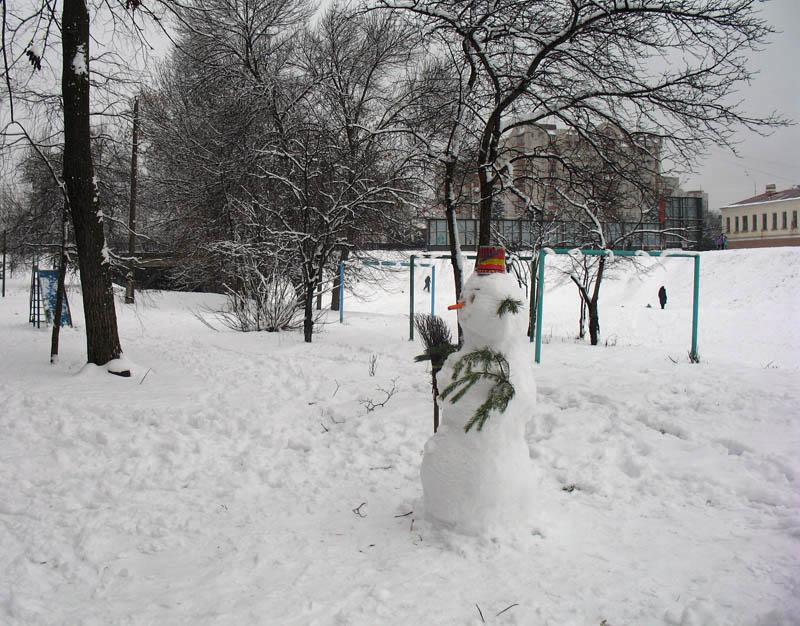 На улице Б. Федорова. Тамбов. Фото 6 января 2013 г.