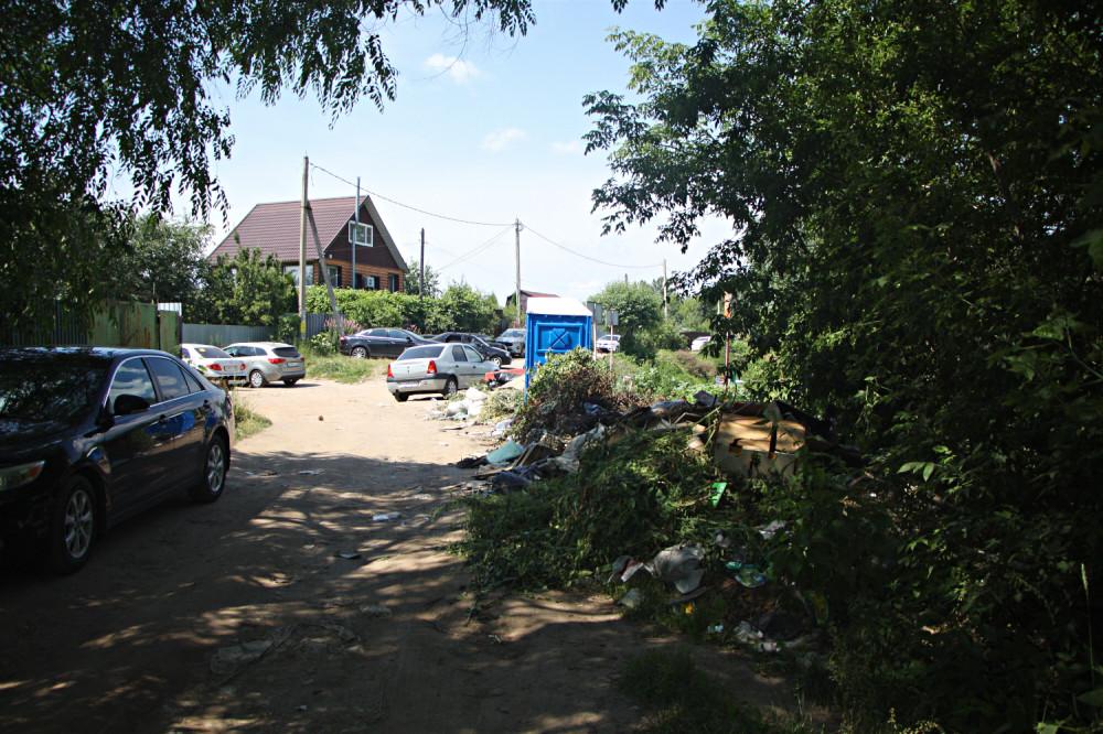 Городской пляж. Тамбов. Фото 28 июня 2020 года