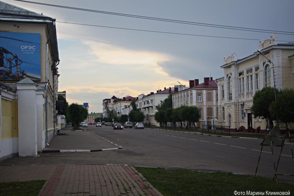 Улица Ст. Разина. Тамбов. Фото 28 июня 2020 года