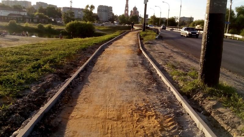 Рассказовское шоссе. Тамбов. Фото 30 июня 2020 года