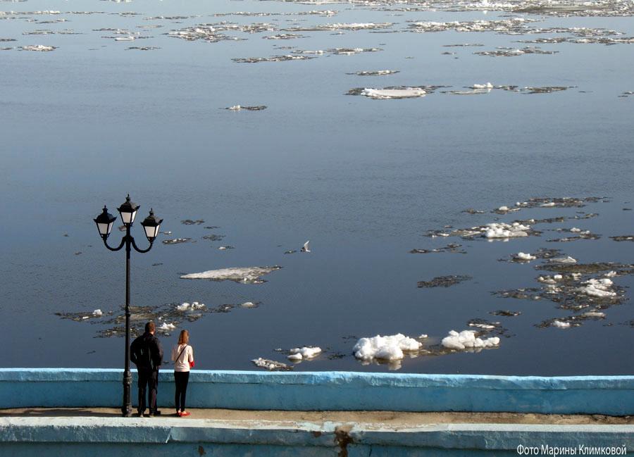 Саратов. Набережная. Фото 5 апреля 2020 года