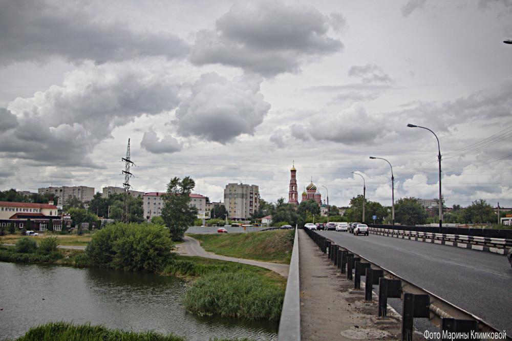 Тамбов. Фид на Вознесеснкий монастырь с Рассказовского шоссе. Фото 18 июля 2020 года