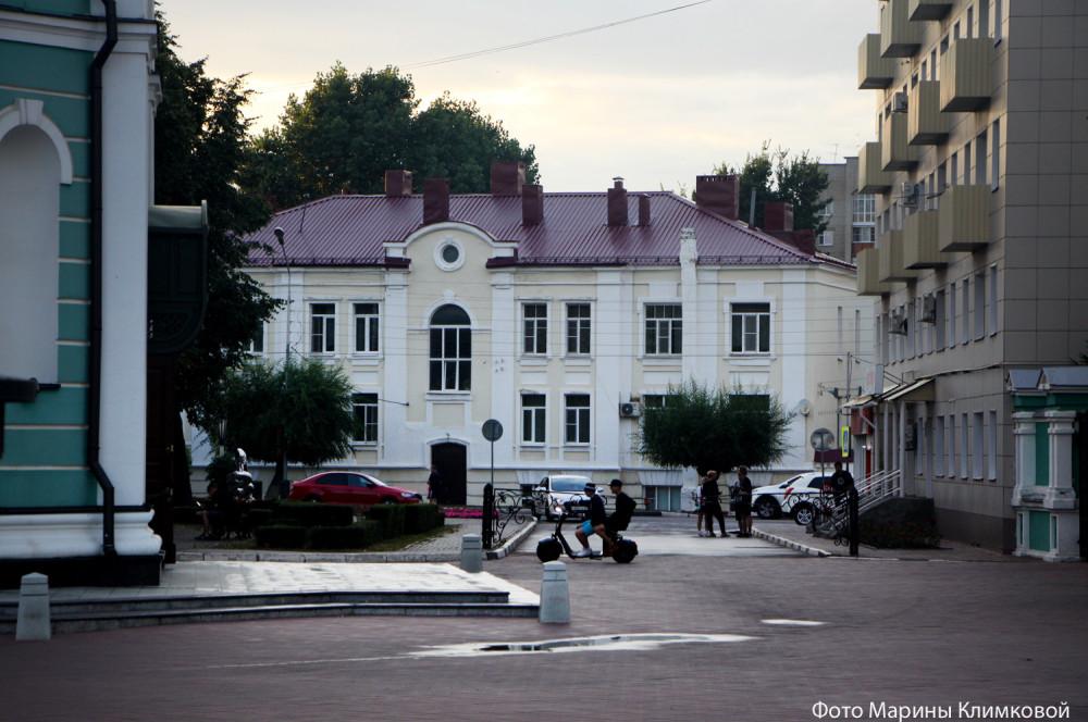 На улице С. Разина. Тамбов. Фото 21 июля 2020 года