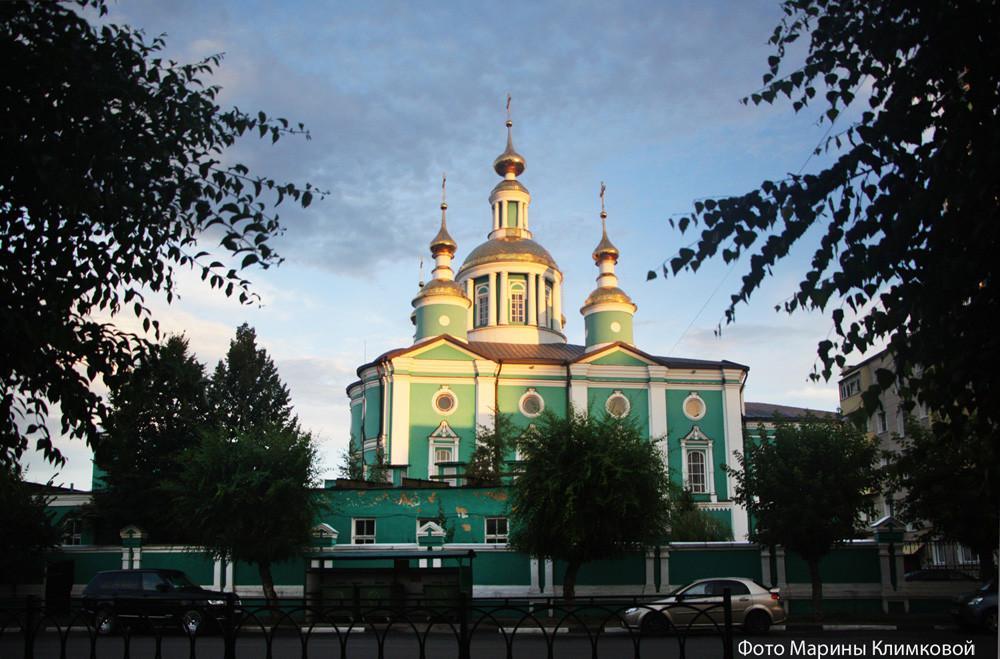 Спасо-Преображенский кафедральный собор города Тамбова. Фото 2020 года