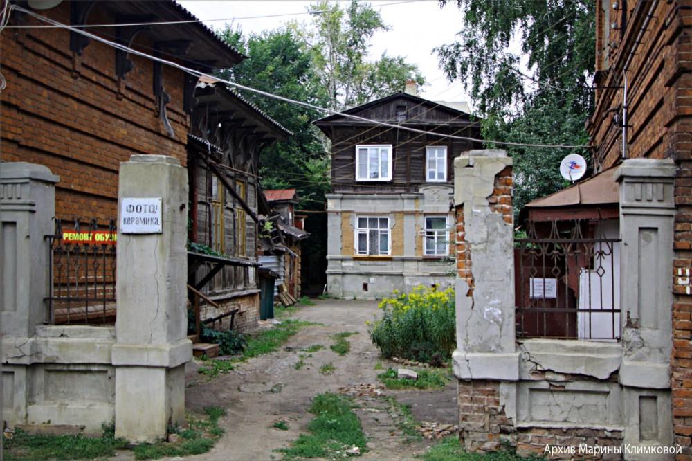 На улице М. Горького. Тамбов. Фото 20 августа 2020 года