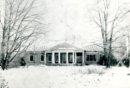 Усадебный дом в Маре. Фото М.А.Боратынского. Начало ХХ в.