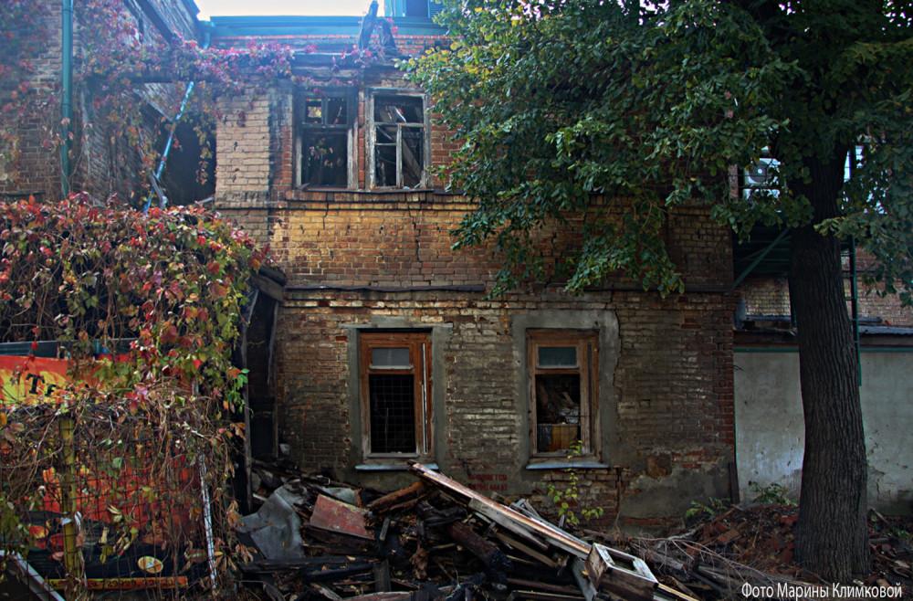 Дом на улице Советской. Тамбов. Фото 3 ноября 2020 года
