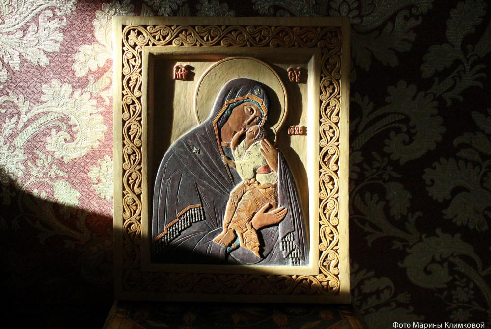 Александр Климков. Резная деревянная икона